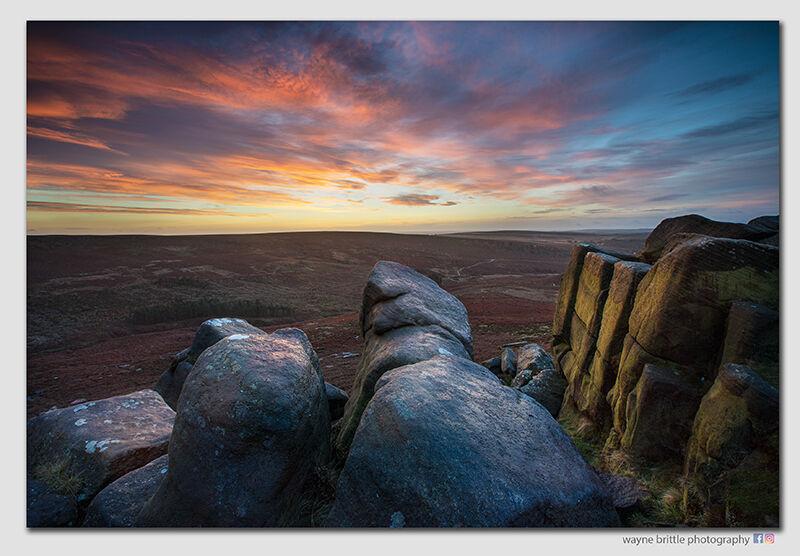 Higger Tor, As the sun rises - W5D46583