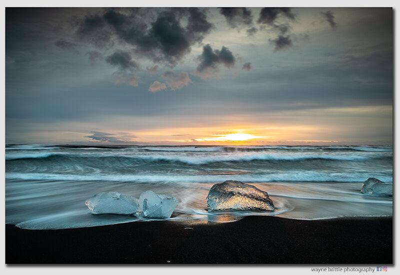 Ice Beach Sunrise 8 - W5D4299