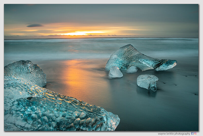 Ice Beach at Sunrise 2 - W5D4267
