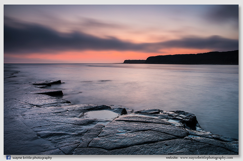 Kimmeridge Bay at Dusk