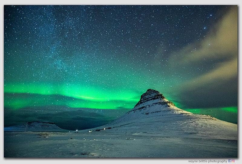 Kirkjufell Aurora -  2dn  -  W5D41922