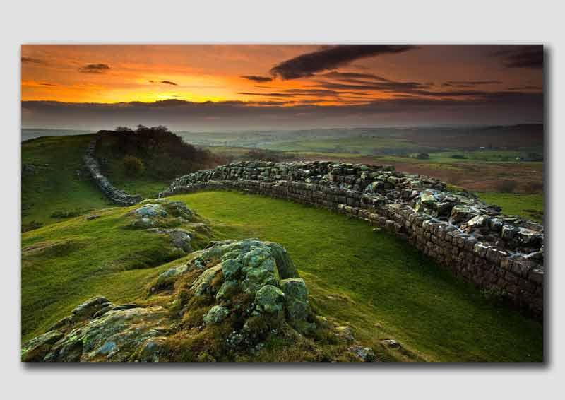 Last Light near Hadrians Wall - NS3190