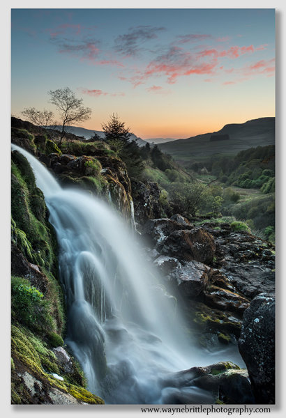 Dusk at the Loup of Fintry