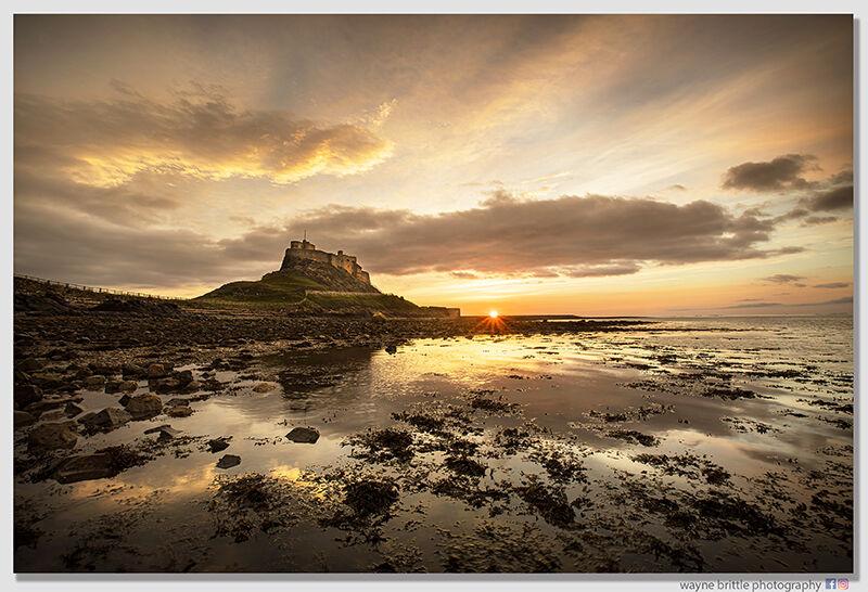 Lindisfarne Sunrise - The Light and the Dark-3  W5D45832