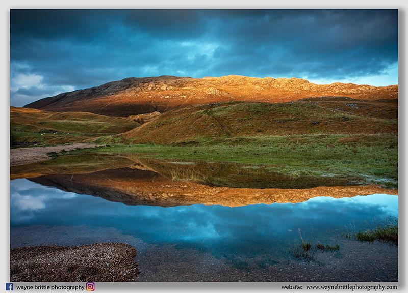 Loch Assynt - Mountain Reflections - W5D34529
