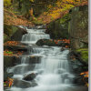 Lumsdale Falls in the Autumn