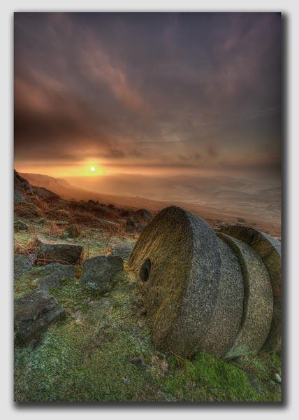 Millstone Dawn - HDR