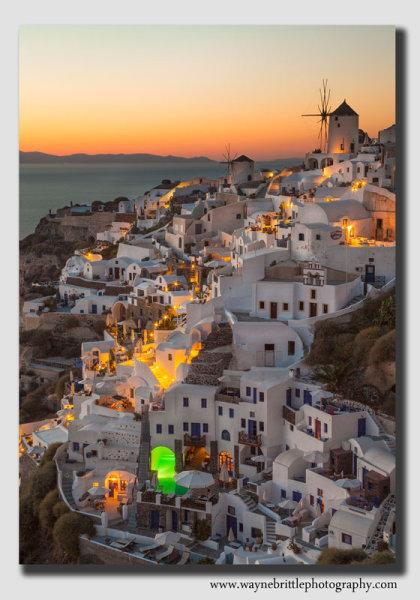 Oia - Santorini Twilight - 6581