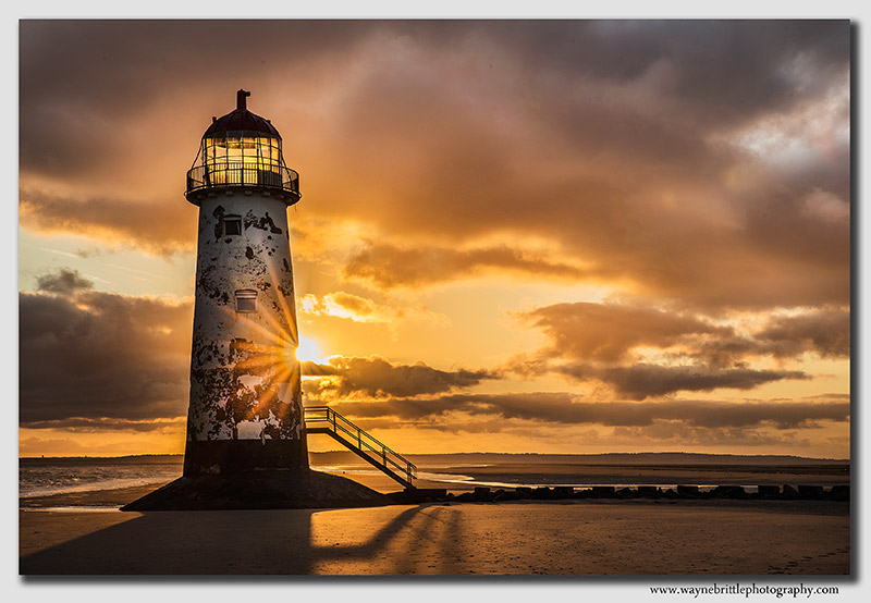 Point of Ayr Lighthouse Sunrise 2