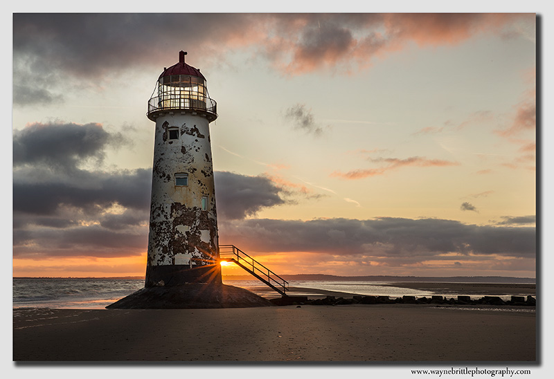 Point of Ayr Lighthouse Sunrise