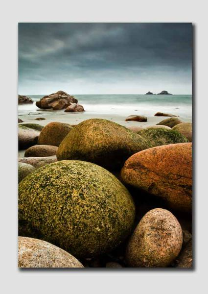 Porth Nanven Boulders on the Beach - CS7262