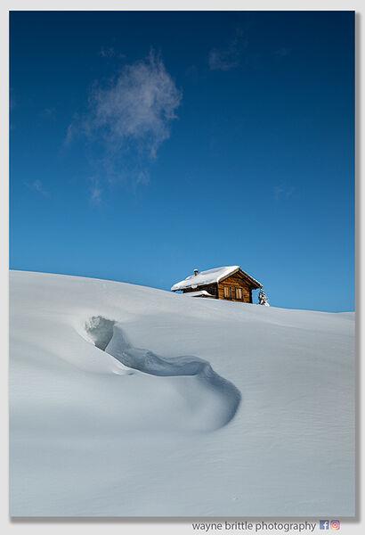 Dolomites Refuge-Hut-In-Deep-Snow----W5D46016