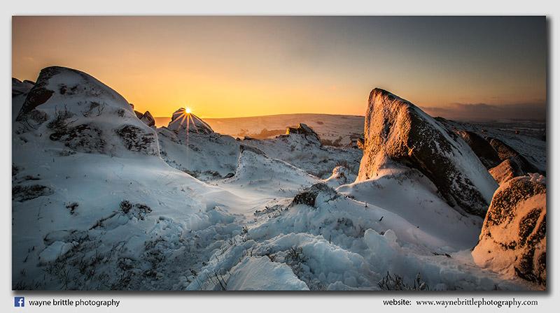 Ramshaw Rocks Winter Sunrise 2 - F8AX8656