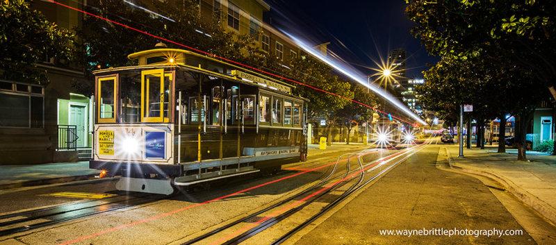 San Francisco Cable Cars & City Lights - W5D36492