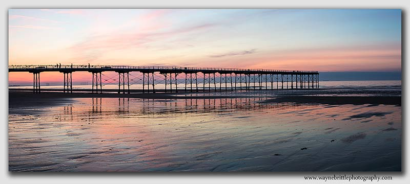 Saltburn Pier at Twilight