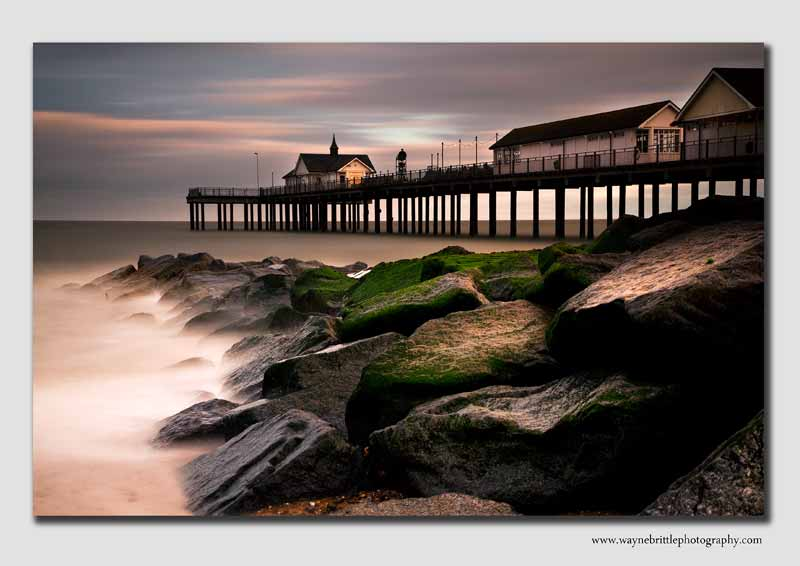 Southwold Pier in the evening light - SUF0797