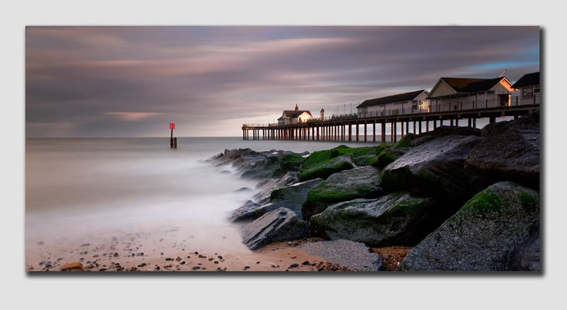 Southwold Pier last light - Panorama