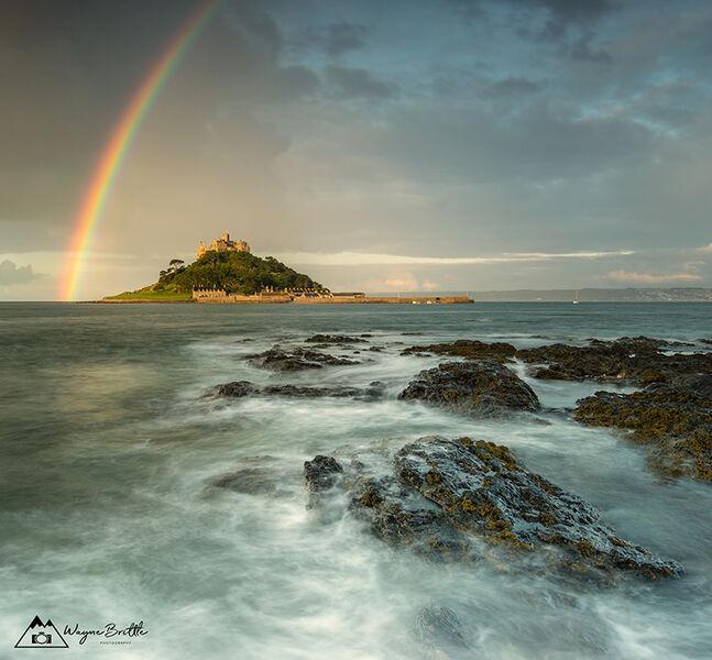 St-Michael's Mount Rainbow - W5D49078