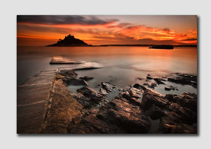 St Michaels Mount at Dusk - CS7465