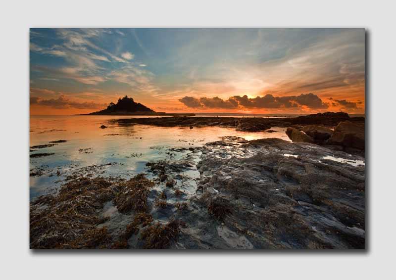 St Michaels Mount Sunset - CS7108