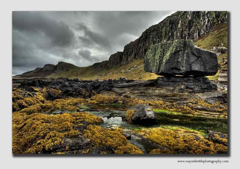 Staffin Bay Rock's - HDR - IOS2133