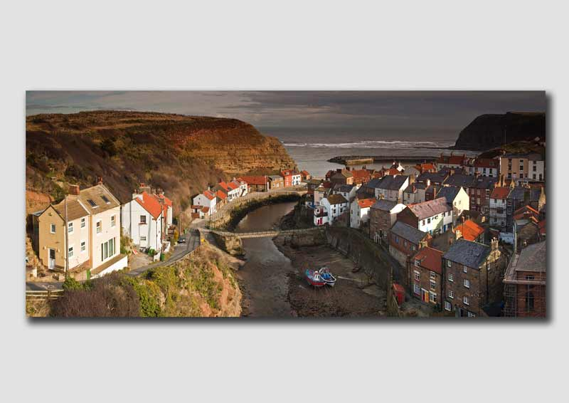 Staithes - High View - Panorama