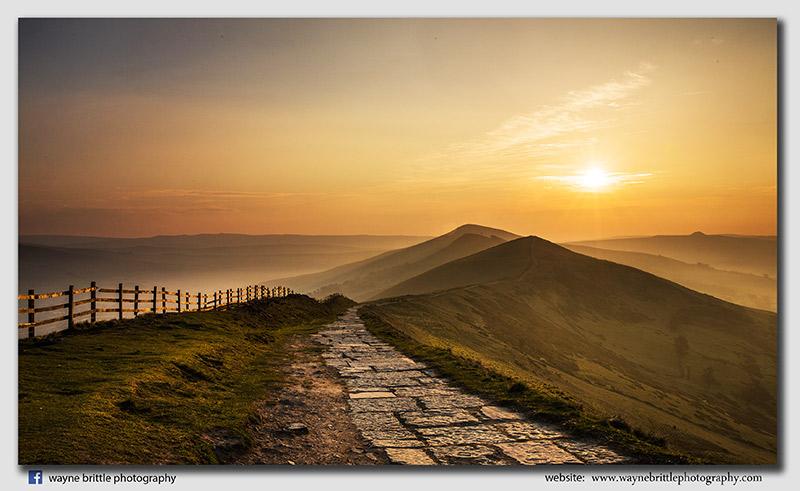 The Great Ridge at Sunrise - W5D30568