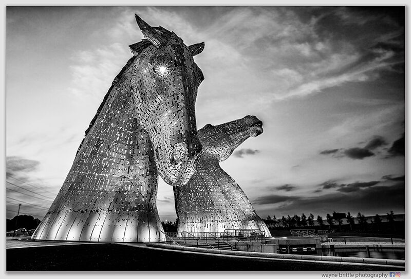 The-Kelpies---Light-In-The-Eye---B&W---W5D34055