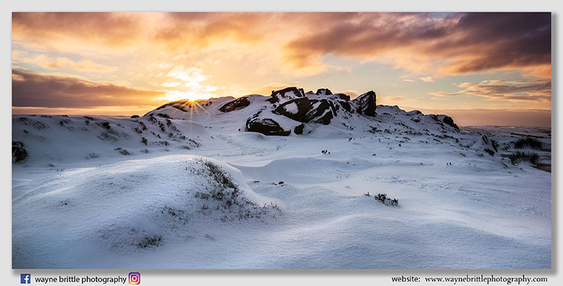 The Roaches Winter Sunrise - FX8A9001