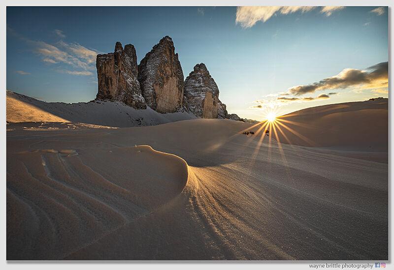 Tre Cime, The SnowTexture & Light-3 W5D46268