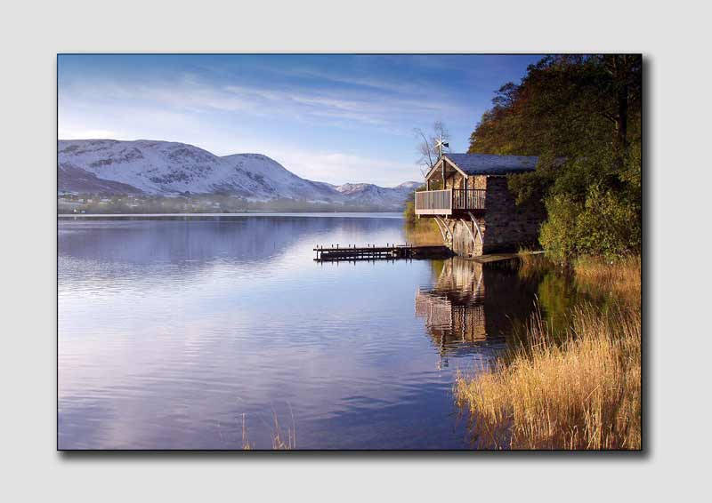 Ulleswater Boathouse, Cumbria  -  LS022