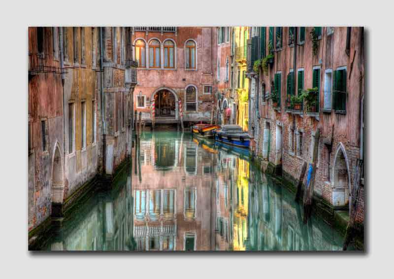 Venice Canal View HDR - V5997