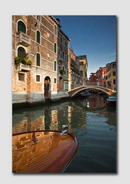 Venice Canal Reflection - V6006