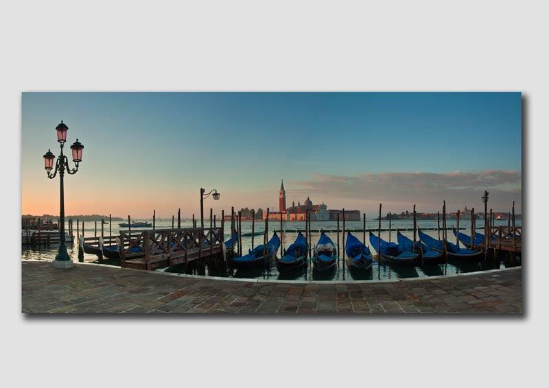 Venice Gondalas Panorama 1
