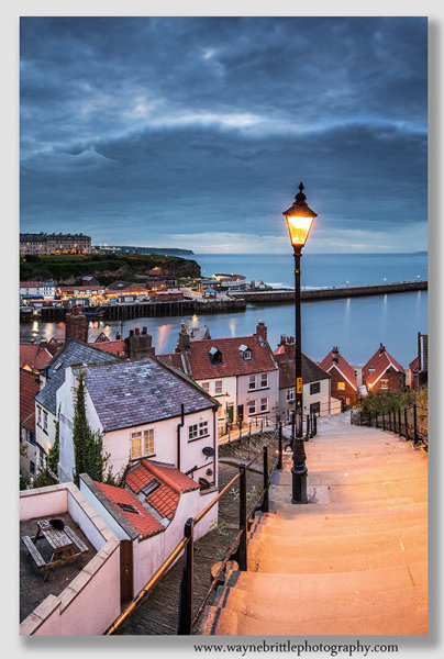 Whitby Step's evening light