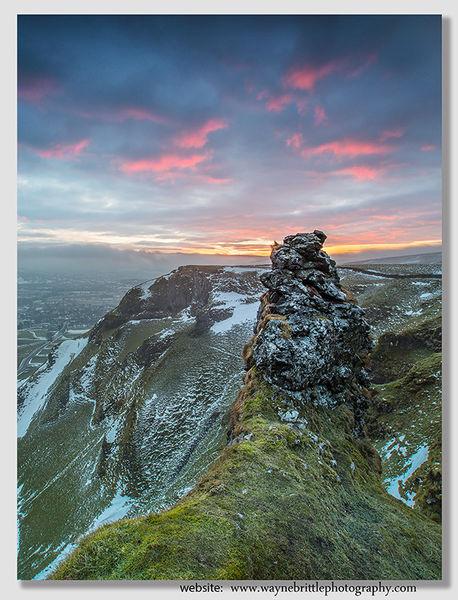 Winter Skies on Winnat's Pass - 5DSR482