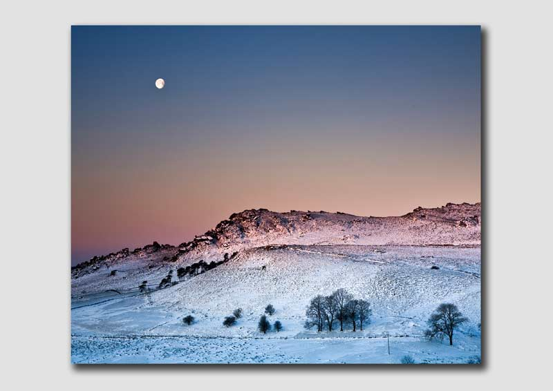 Winter Light over the Roaches - 1 - SS5765