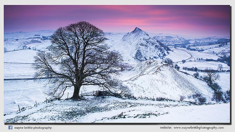 Parkhouse Hill Winter Dawn