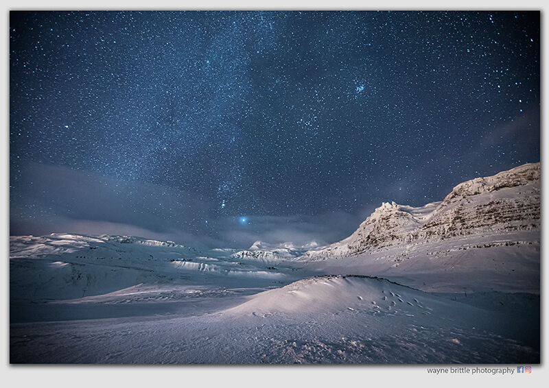 A Night under the Star in Iceland -  1 -  W5D41925