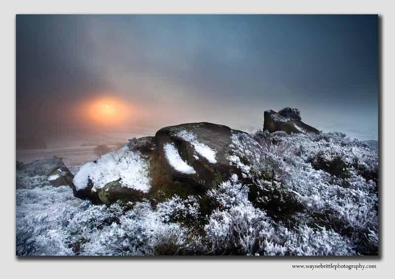 Winter Light over Morridge Edge - SS2982