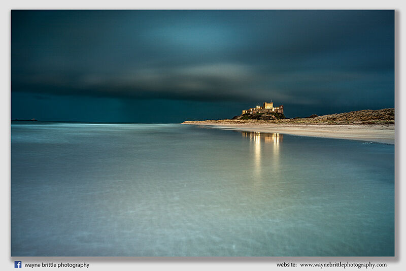 Bamburgh Castle and the Passing Storm - W5D41033