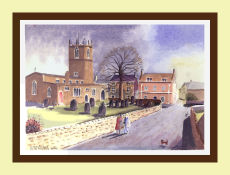 Bawtry Church and The Dutch House
