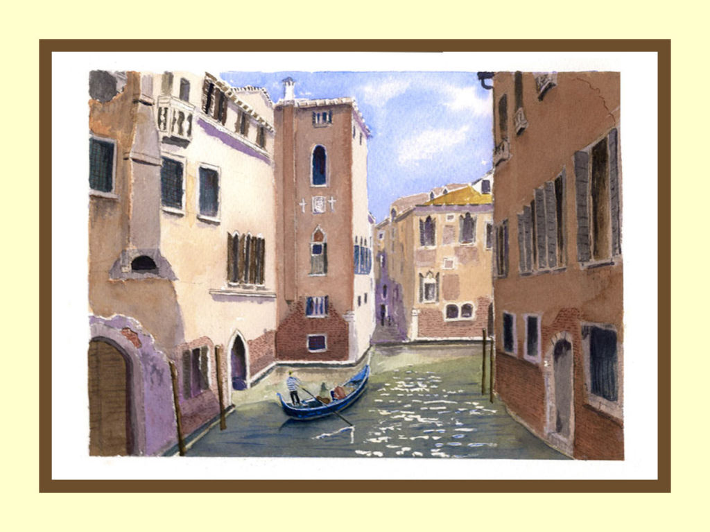 Side Canal and Gondola