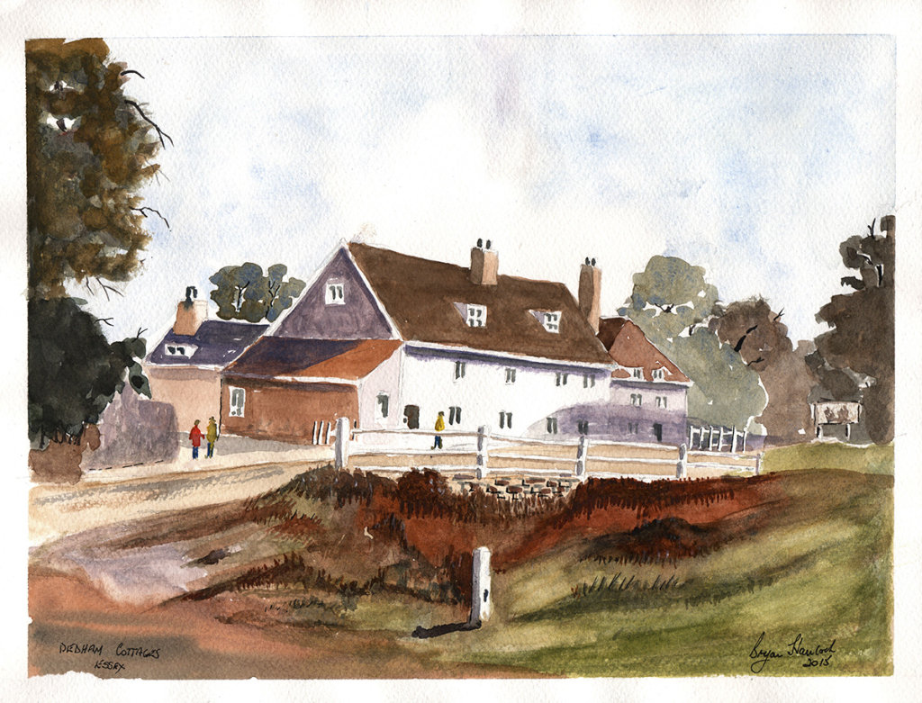 Dedham Cottages Essex