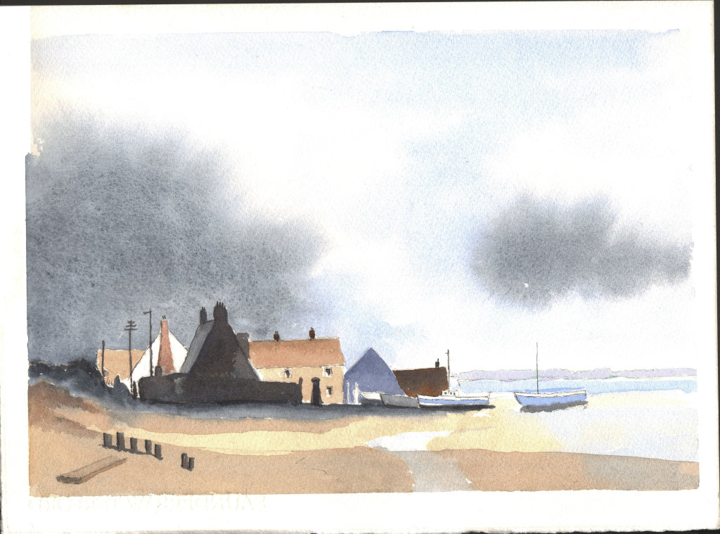 Norfolk Fishing Village 2