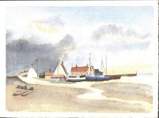 Norfolk Fishing Village 1