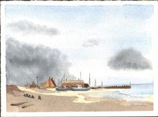 Norfolk Fishing Village 3