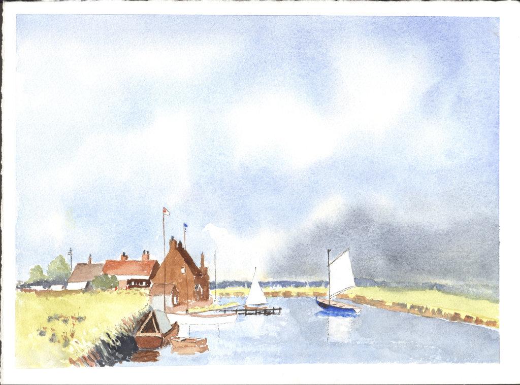Norfolk Fishing Village 5