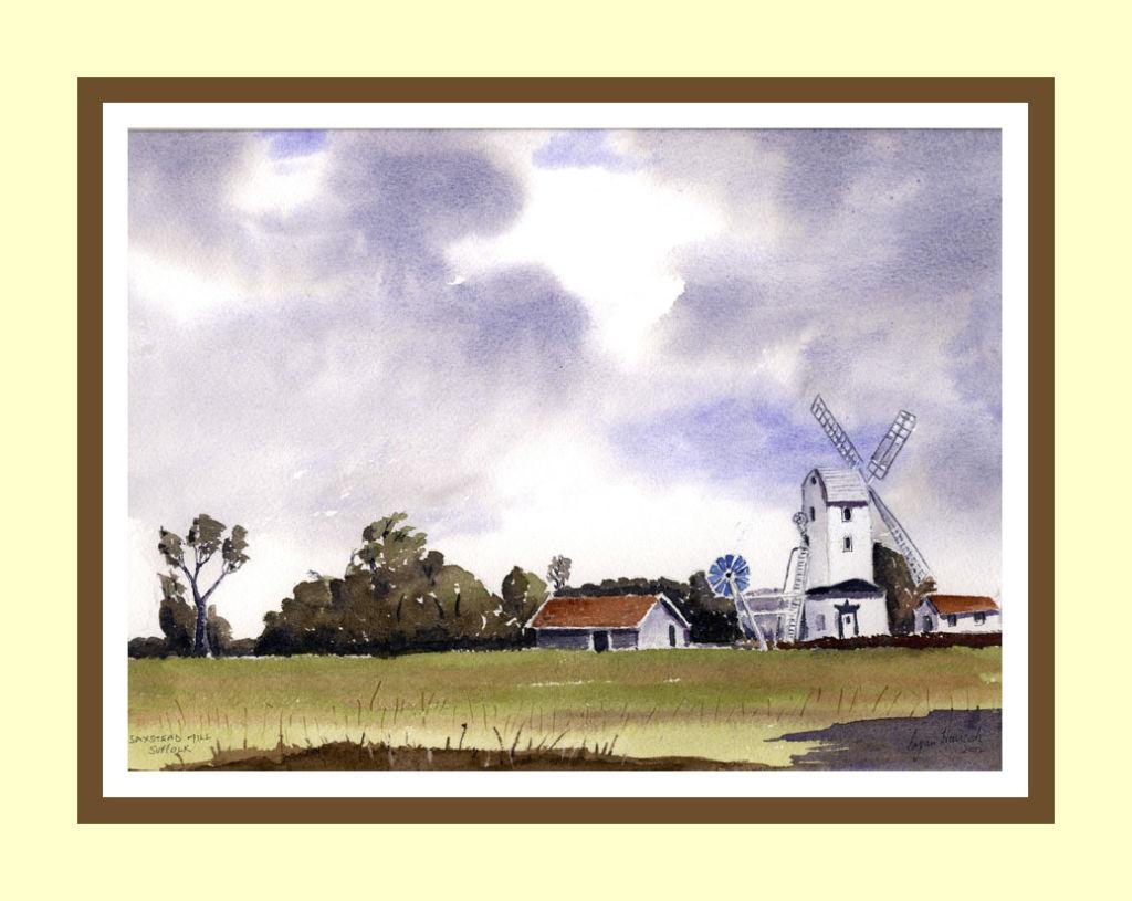 Saxstead Mill
