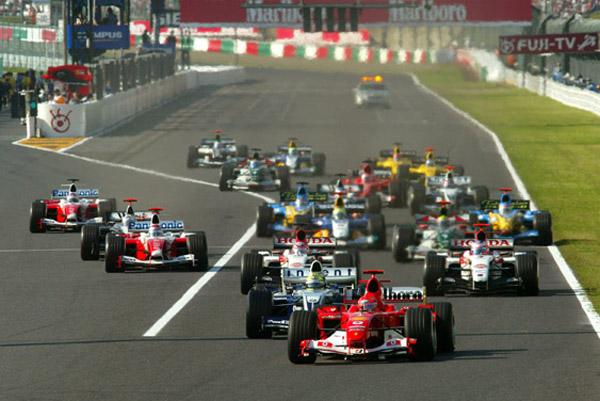 F1 Start - Japan